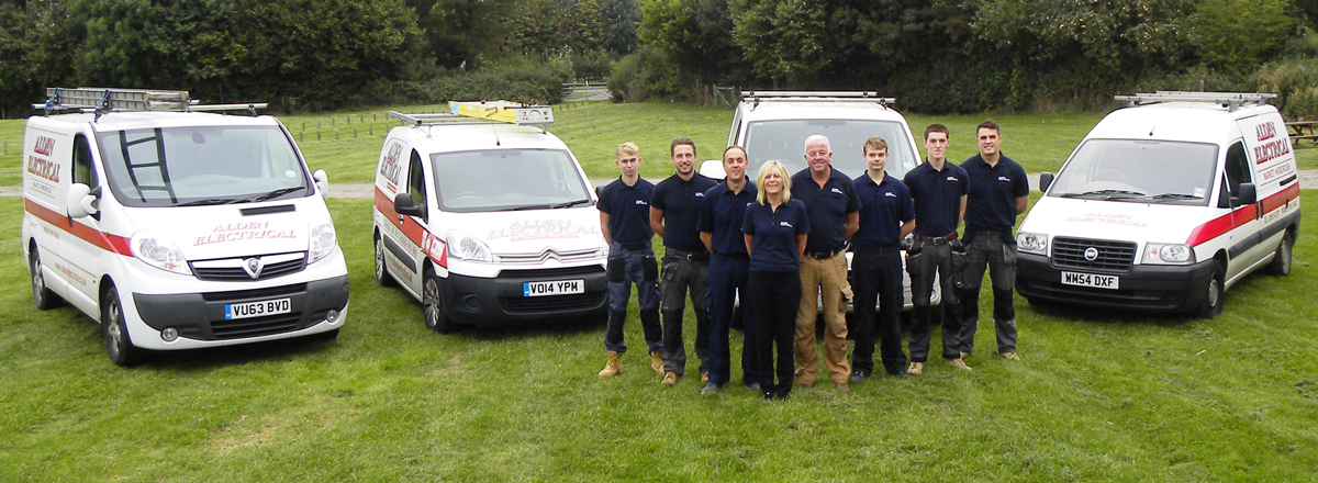The Alden Electrical Team